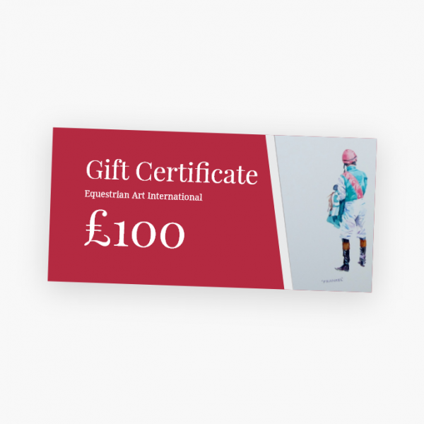 Horse Racing Gift Card